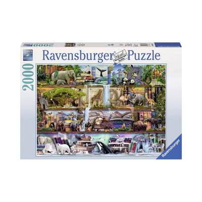 Ravensburger Wild Kingdom Shelves 2000pc Puzzle