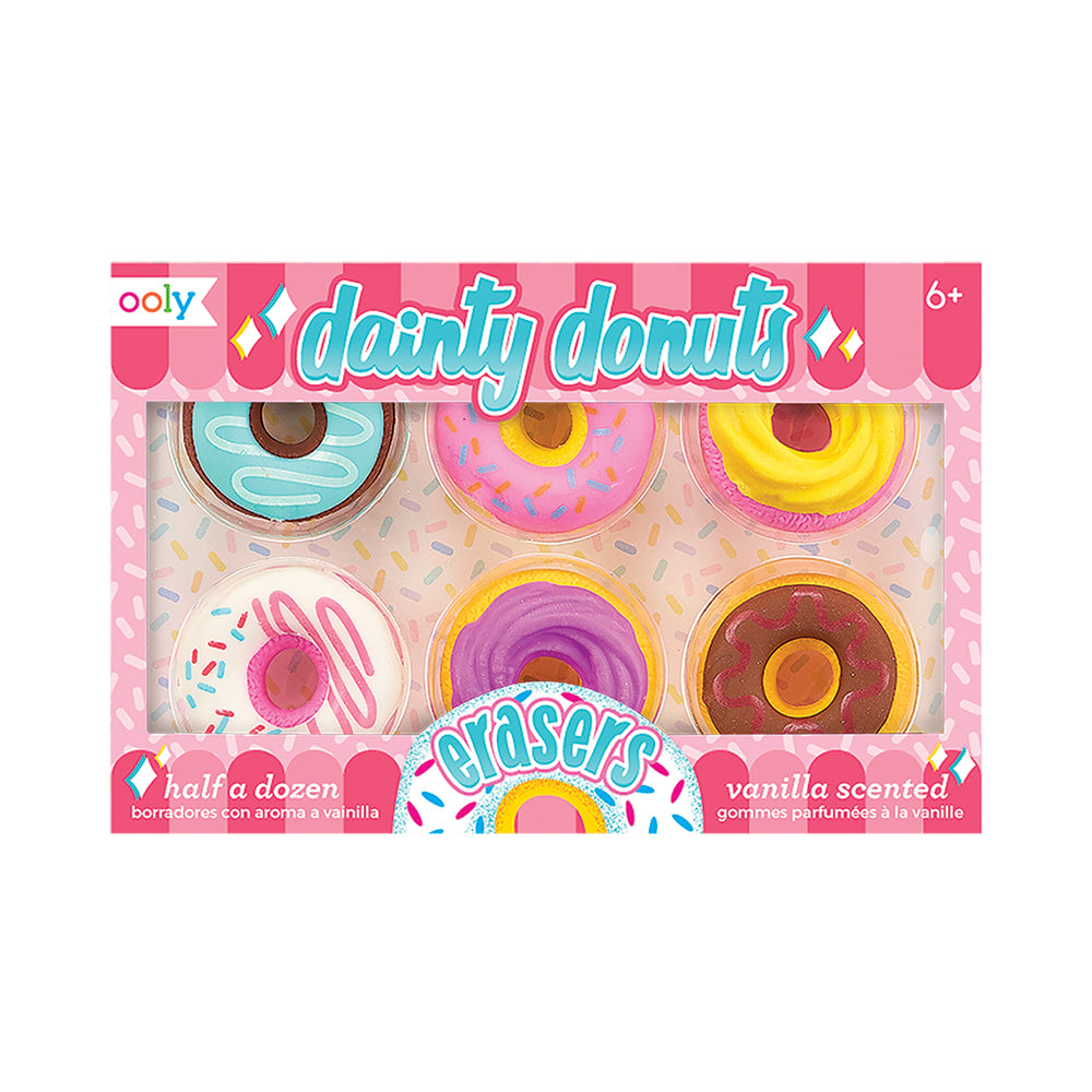 Dainty Donuts Vanilla Scented Erasers