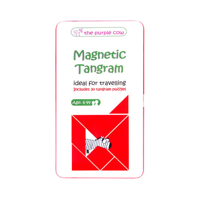 Magnetic Games To Go Tangram