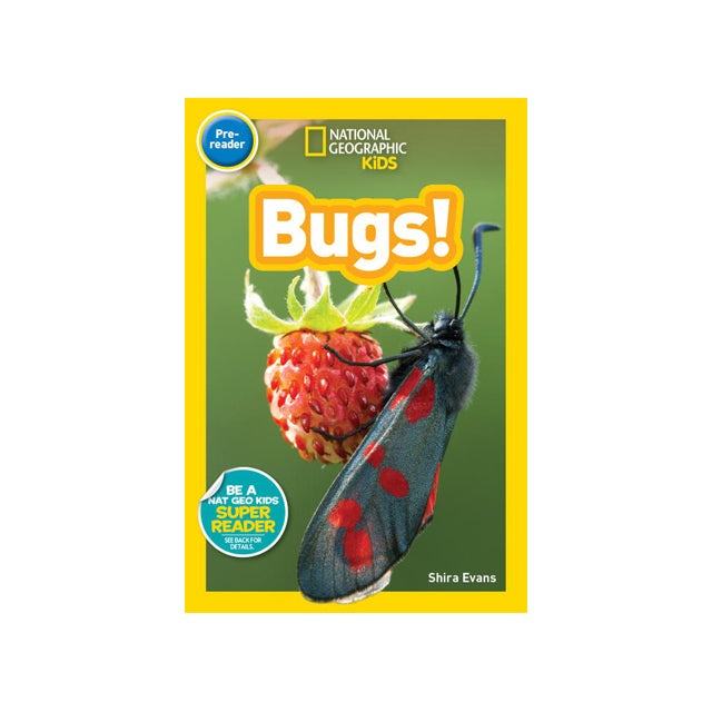 National Geographic Kids Readers Pre-Reader: Bugs