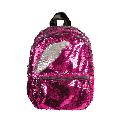 Fashion Angels Magic Sequin Pink/Silver Mini Backpack