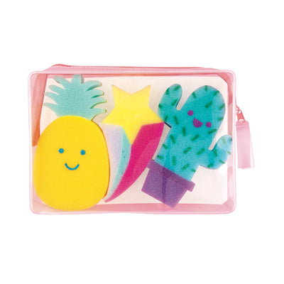 Fashion Angels Pineapple & Co. Sponge Set