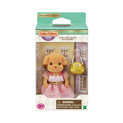 Calico Critters Town Laura Toy Poodle