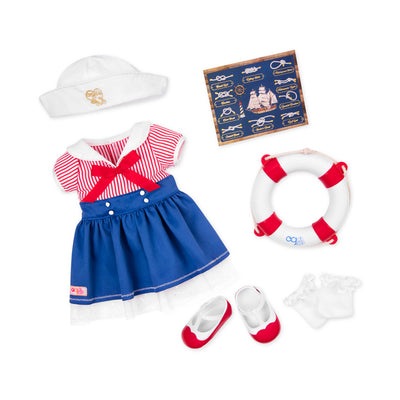 "Our Generation Buoy Oh Buoy 18"" Deluxe Outfit"