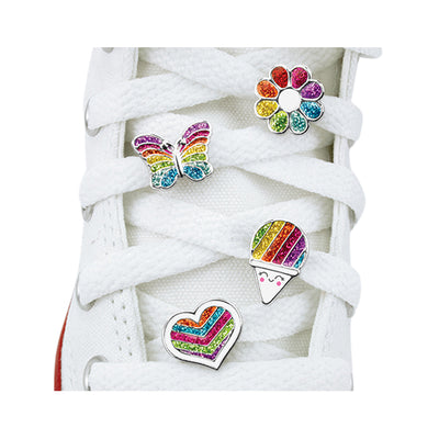 CHARM IT! Rainbow Shoelace Set