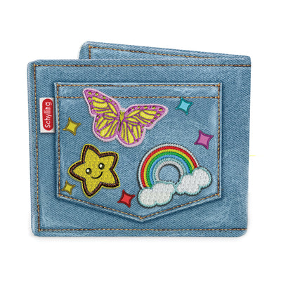 Canvas Fabric Kids Wallet