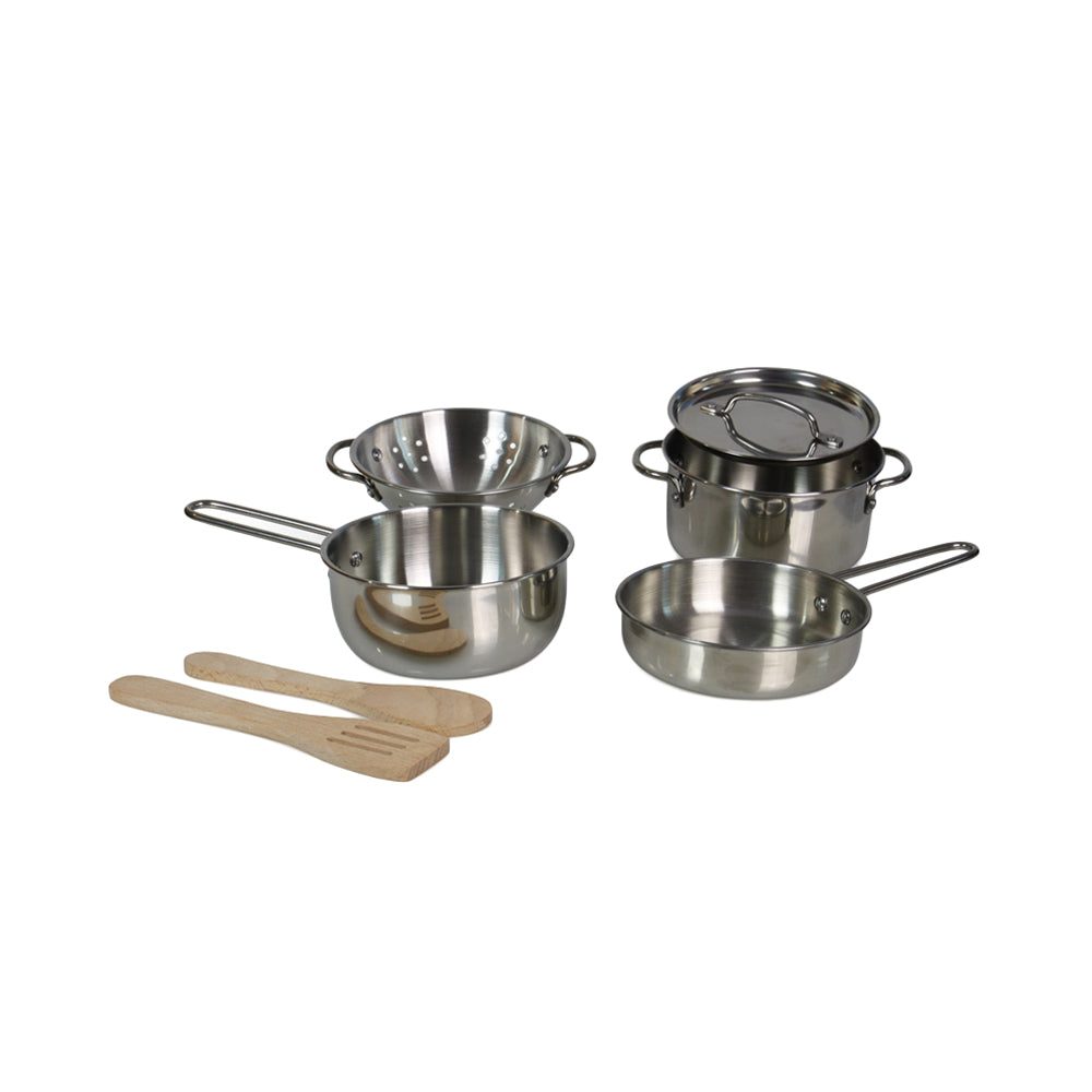 Cooking Master Stainless Steel Pots & Pans Set