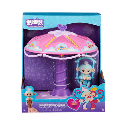 Fingerlings Twirl-a-Whirl Carousel Playset