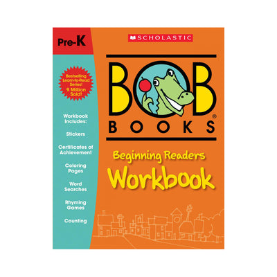 Bob Books: Beginning Readers Workbook Pre-K