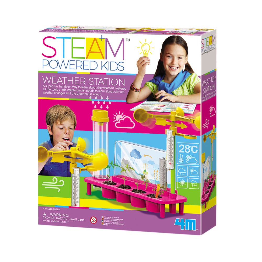 4M STEAM Powered Kids Weather Station