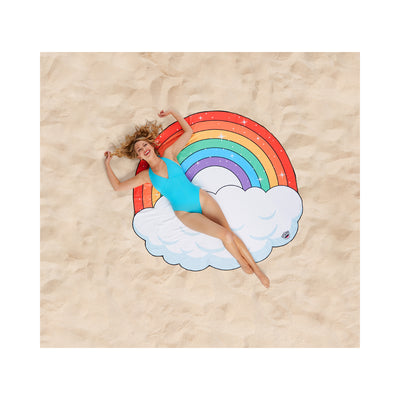BigMouth Inc.® Giant-Sized Fun in the Sun Rainbow Beach Blanket