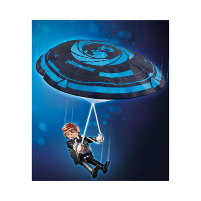 Playmobil: The Movie Rex Dasher with Parachute
