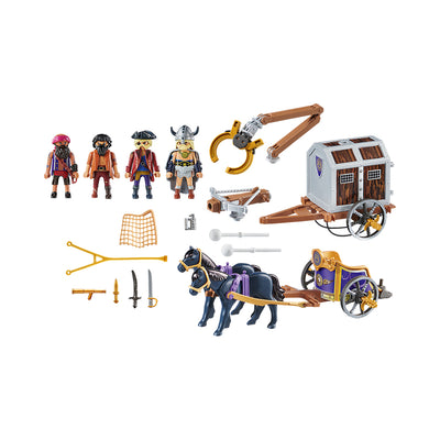 Playmobil: The Movie Charlie with Prison Wagon