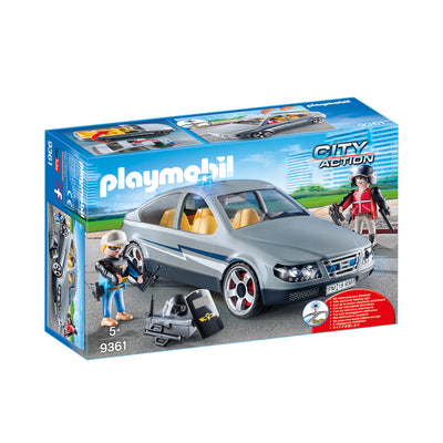 Playmobil City Action Tactical Unit Undercover Car