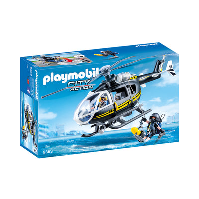 Playmobil City Action Tactical Unit Helicopter