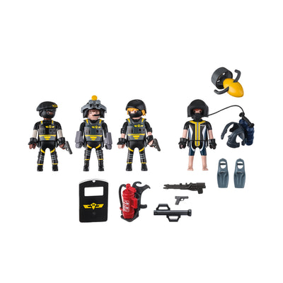 Playmobil City Action Tactical Unit Team