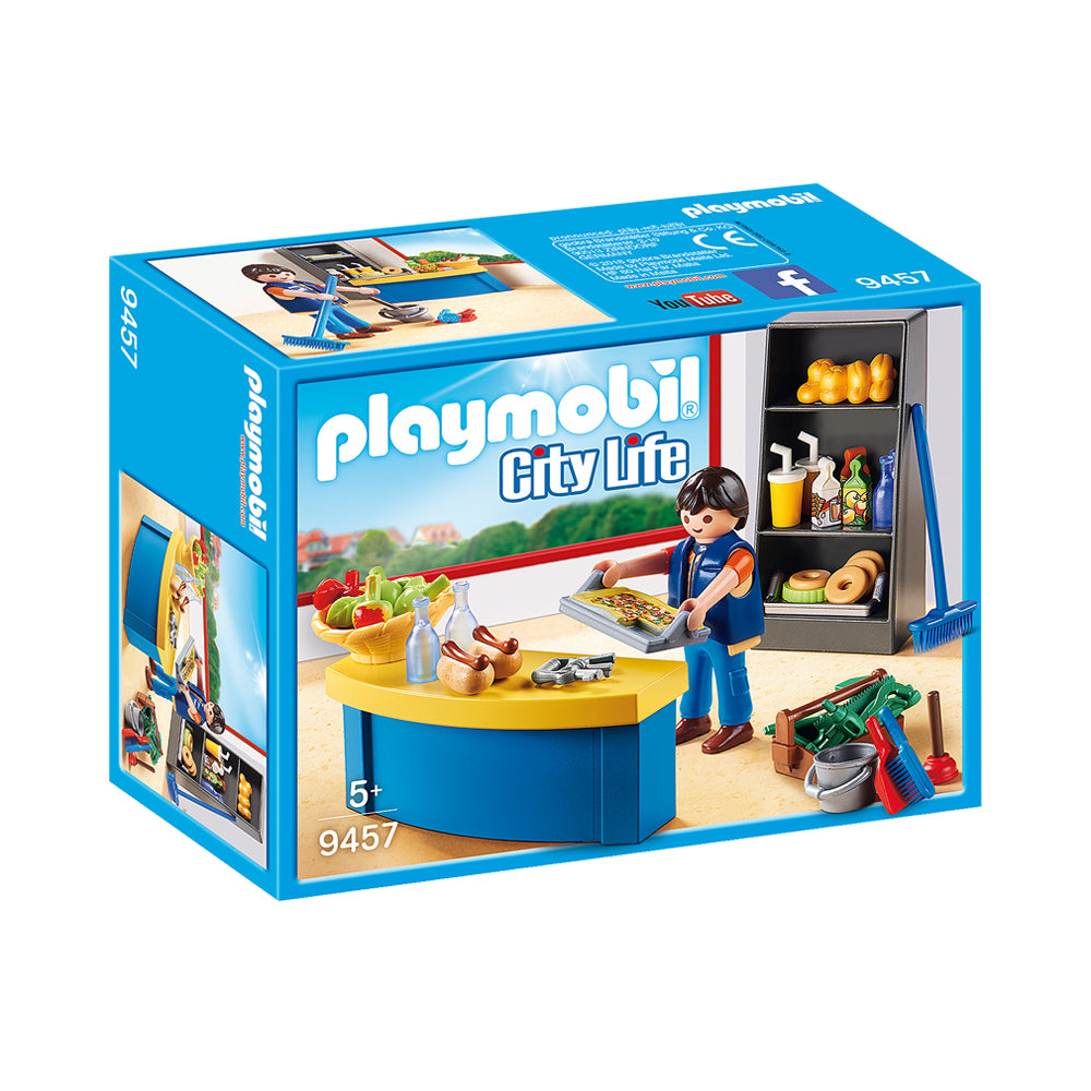 Playmobil City Life School Caretaker