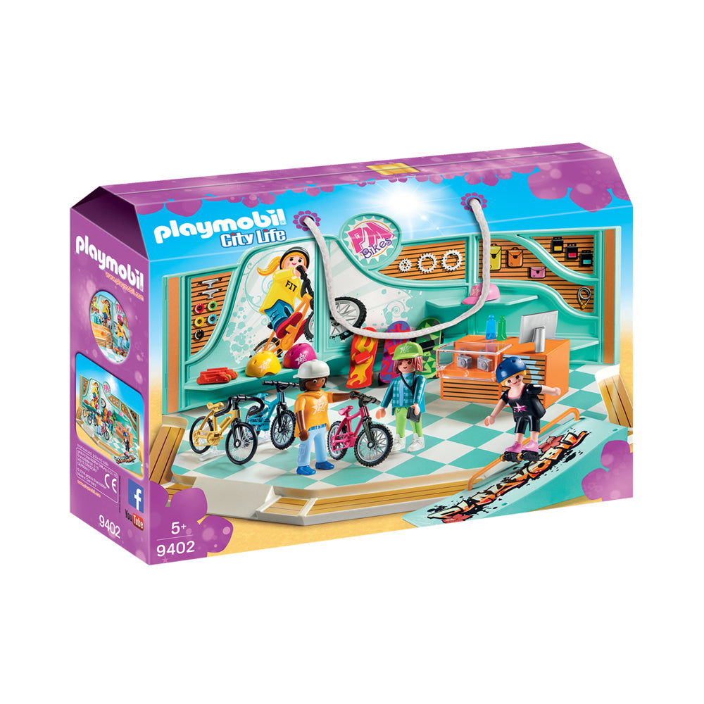 Playmobil City Life Bike & Skate Shop