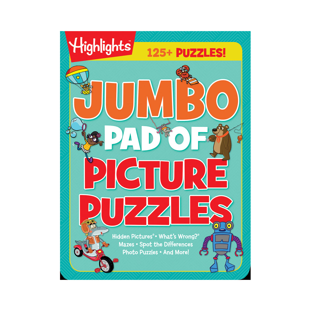 Highlights Jumbo Pad of Picture Puzzles