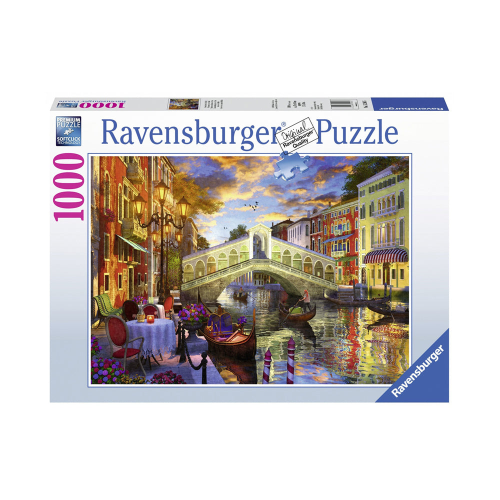 Ravensburger Sunset over Rialto 1000pc Puzzle