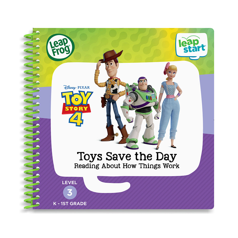LeapFrog® LeapStart® Disney·Pixar Toy Story 4: Toys Save the Day