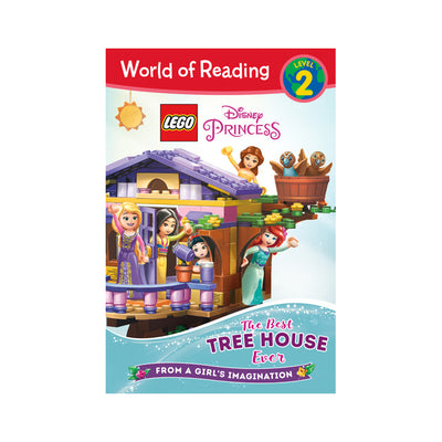 World of Reading: LEGO Disney Princess: The Best Tree House Ever Level 2 Reader