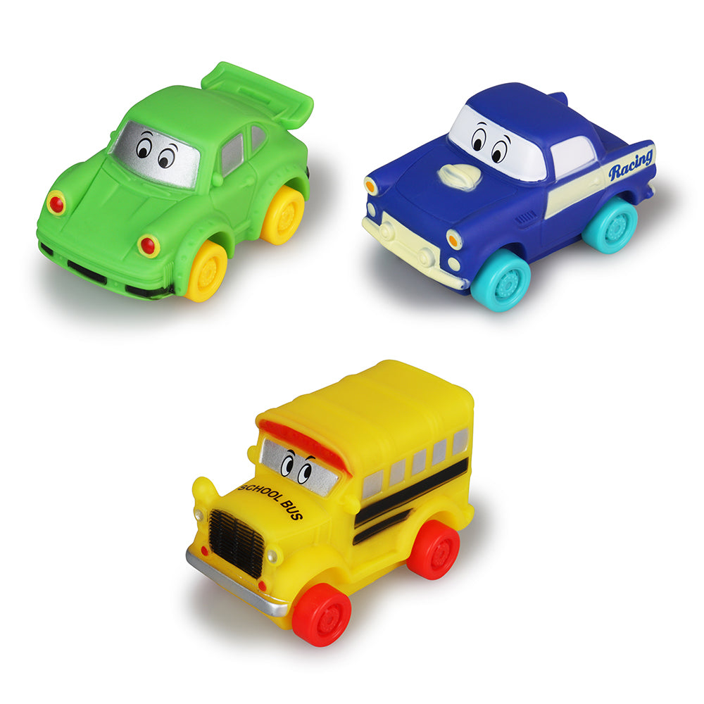 Free Wheelers Vehicles Set