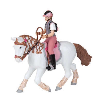 Papo Trendy Rider in Pink