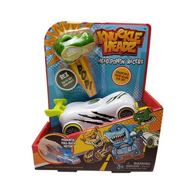 Knuckle-Headz Head Poppin' Racers Single Pack