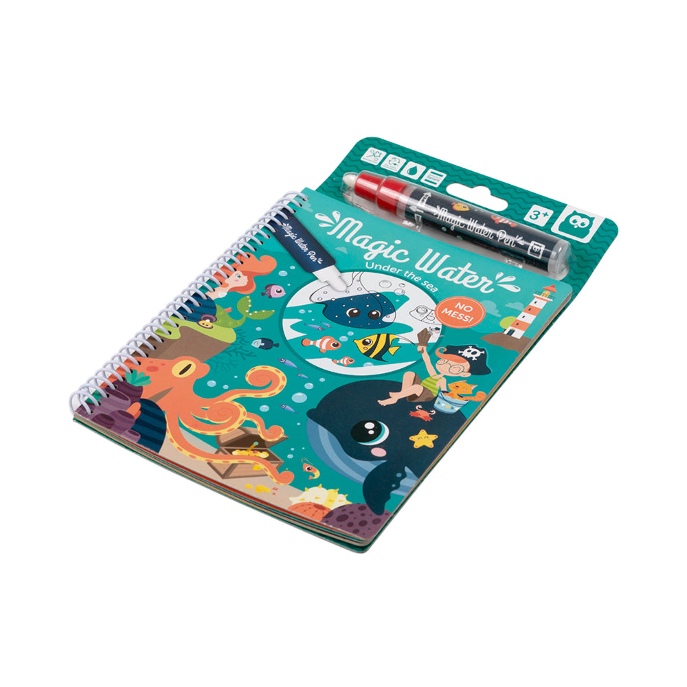 Owl Toys Magic Water Doodle Book: Under The Sea