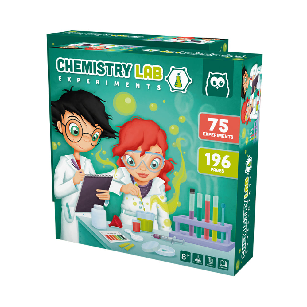 Owl Toys Chemistry Lab Experiments Set