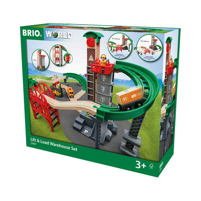 BRIO® World Lift & Load Warehouse Set