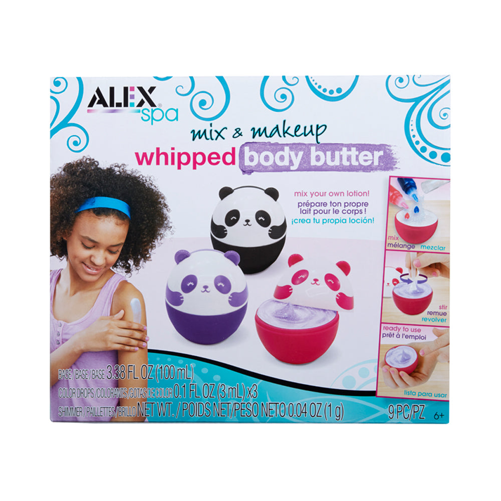 ALEX Spa Mix & Makeup Whipped Body Butter Kit