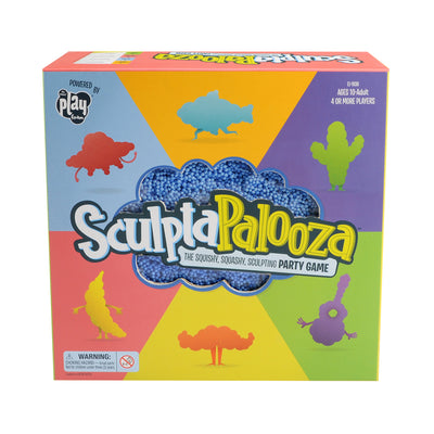 Sculptapalooza: The Squishy, Squashy, Sculpting Party Game