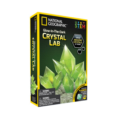 National Geographic™ Glow in the Dark Crystal Lab
