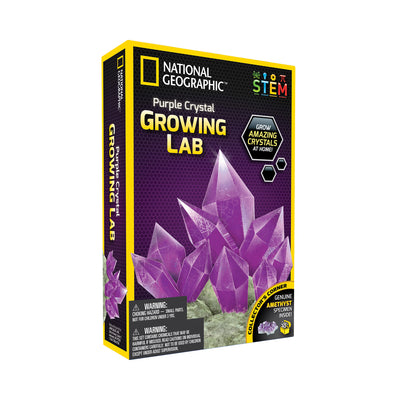 National Geographic™ Amethyst Crystal Growing Lab