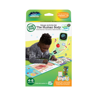 LeapFrog® LeapStart® Go Kindergarten Deluxe Activity Set - The Human Body