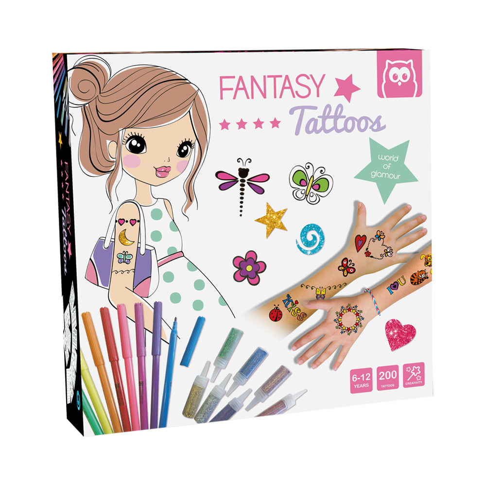 Owl Toys Fantasy Tattoos Kit