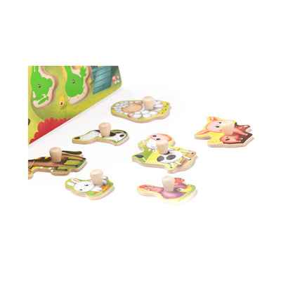 Owl Toys Farm Animals Sound Puzzle