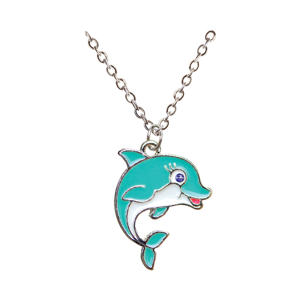 Dolphin Necklace in a Box
