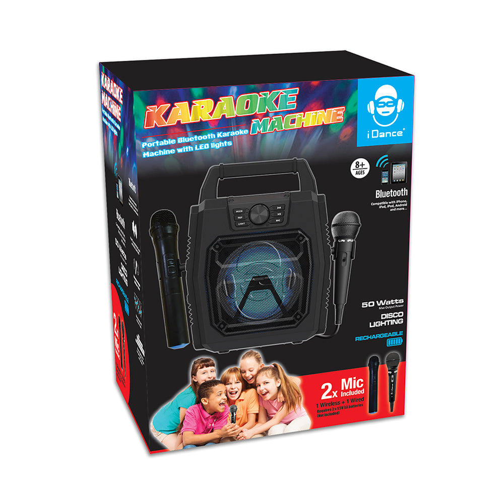 iDance Karaoke Machine with 2 Microphones