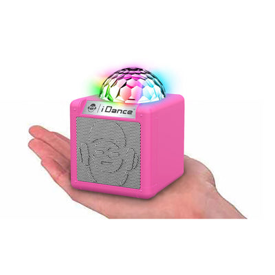 iDance Cube Sing Portable Speaker System with Party Lights