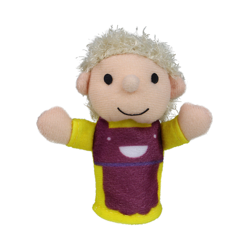 Mom Character Finger Puppet