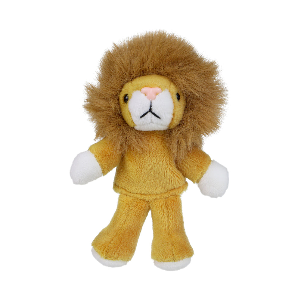 Lion Finger Puppet with Legs