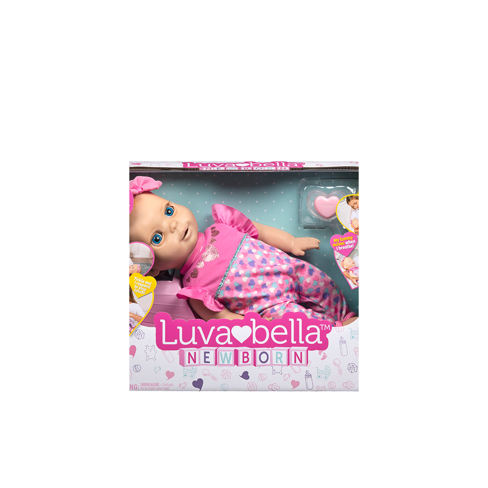 Luvabella Newborn Blonde Doll