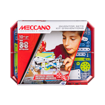 Meccano Inventory Sets Motorized Movers
