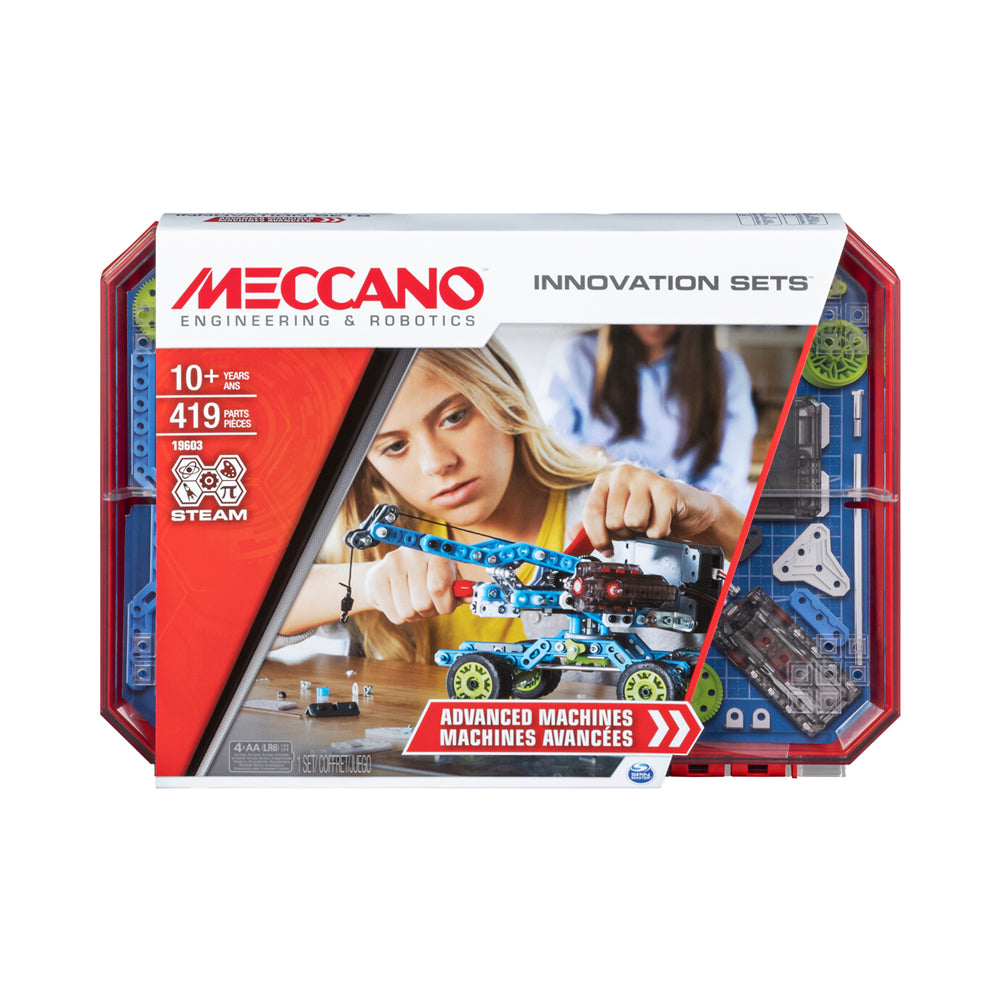 Meccano Innovation Sets Advanced Machines