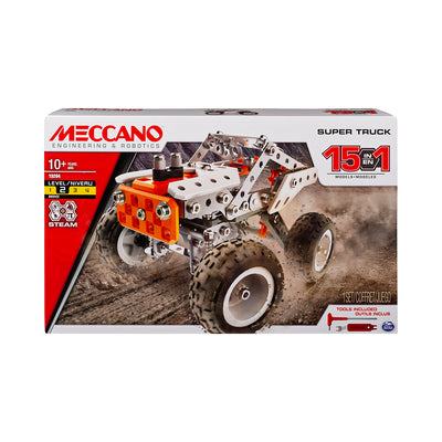 Meccano Super Truck 15-in-1 Set