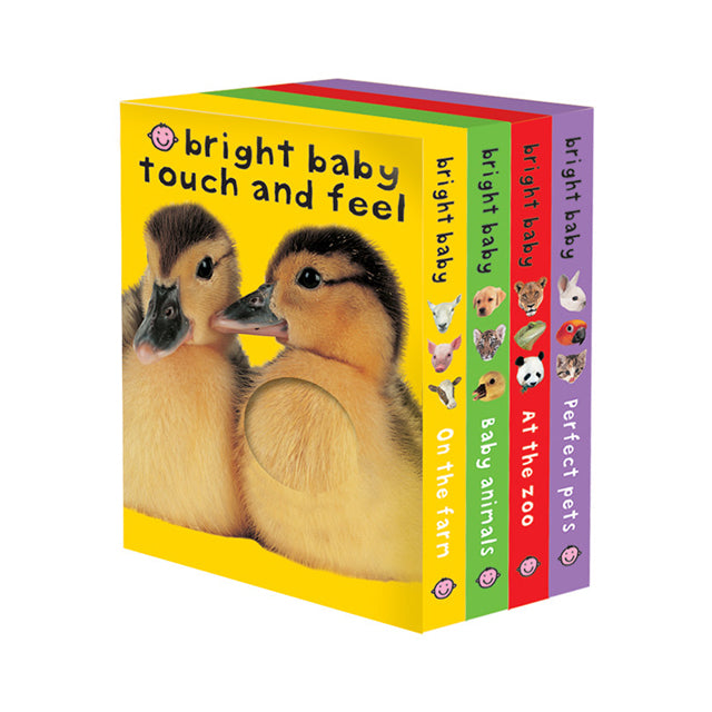 Bright Baby Touch and Feel Boxed Set