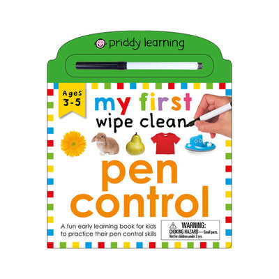 Priddy Learning: My First Wipe Clean: Pen Control